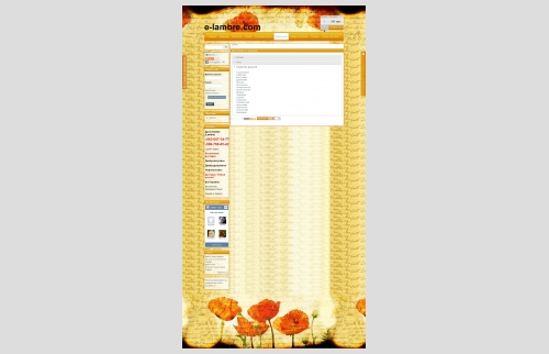 Online perfume store Lambre
