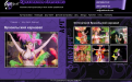 "Website Creative Art Agency ""Favorite"" - organization of holidays"