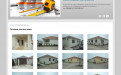 Website of construction firm - house turnkey